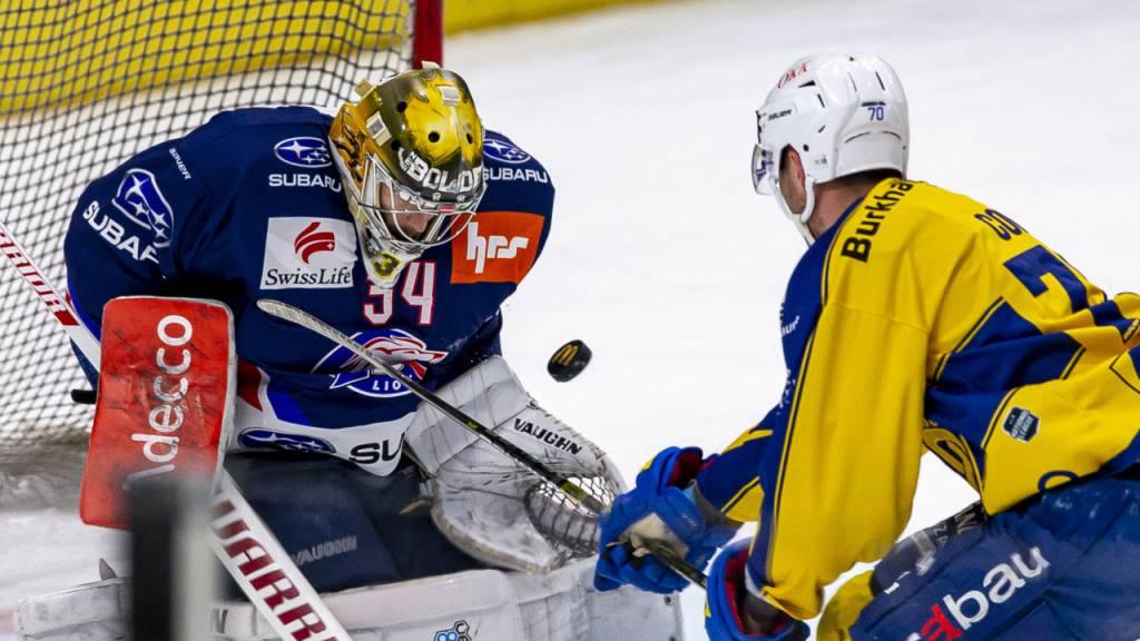 Pettersson schiesst die Lions zum Sieg