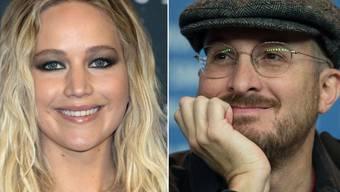 Schauspielerin Jennifer Lawrence ist hin und weg von ihrem Regisseur und Freund Darren Aronofsky (Archivbilder)
