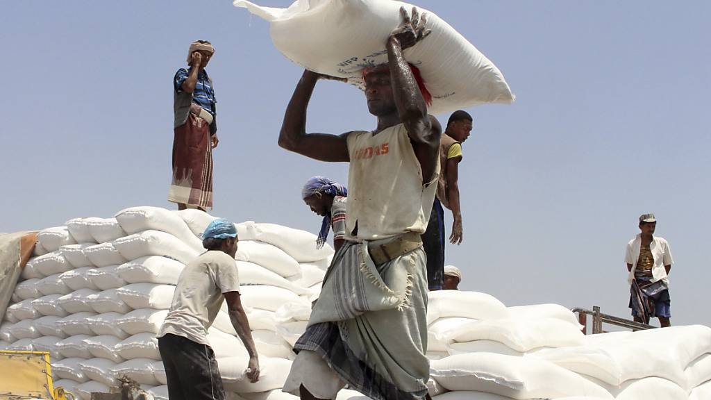 Schweiz unterstützt humanitäre Hilfe im Jemen mit 14 Millionen