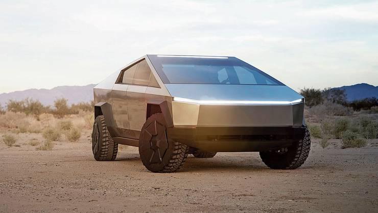 Der Tesla Cybertruck wurde in Los Angeles erstmals präsentiert. (Bilder: pd)