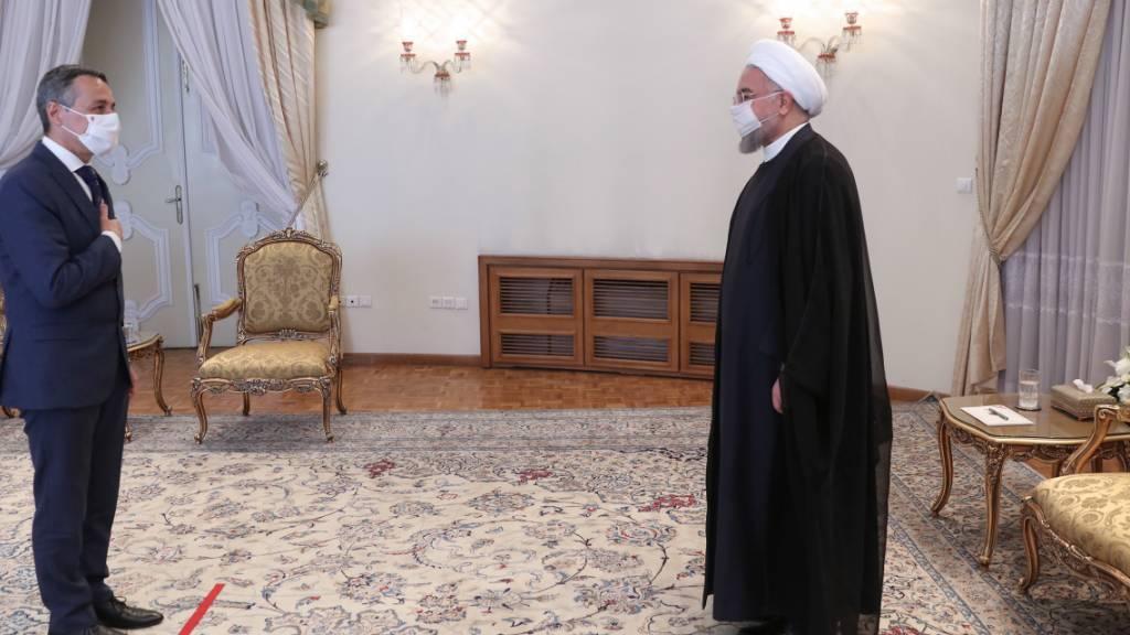 Cassis bespricht mit iranischer Regierung Krisen und Wirtschaft