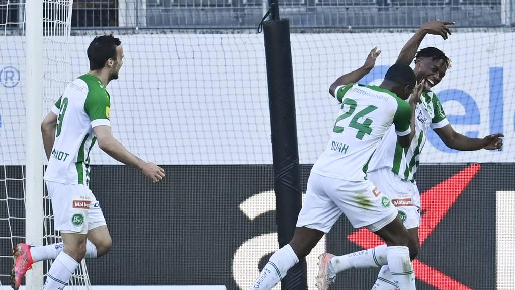 St.Gallen holt gegen Vaduz drei Punkte im Abstiegskampf