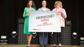 Stadtrat Werner Schib nahm am 2. Oktober 2016 den 1. Preis entgegen.