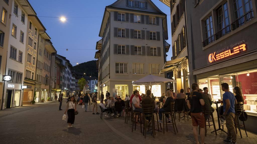Einwohnerrat will mediterranes Flair in Baden bewahren – Boulevard-Beizen auch in Zukunft?
