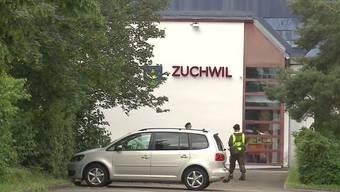 Der Norovirus brach in der Militäranlage in Zuchwil aus. Daraufhin wurden die Unterkünfte gereinigt. (Archiv)