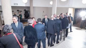 Neujahrsempfang Regierungsrat Basel 2016