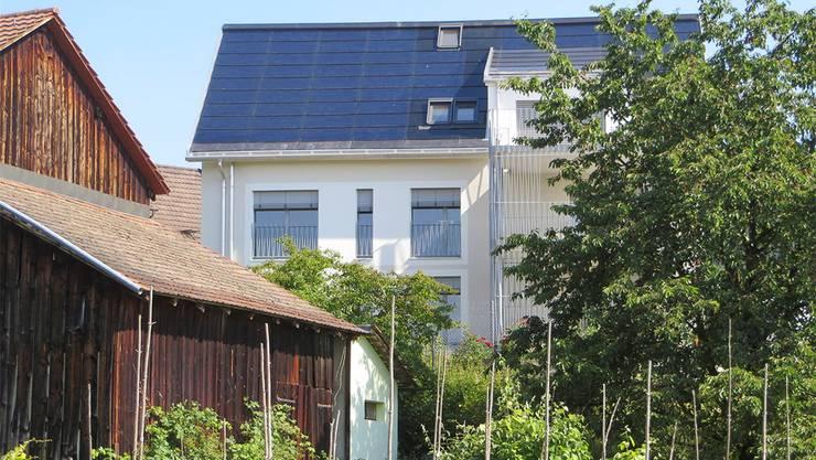Das Öko-Haus in Oberengstringen.zvg