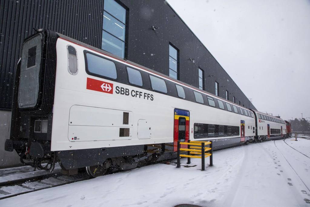 IC2000-Doppelstockzüge der SBB (© SBB)