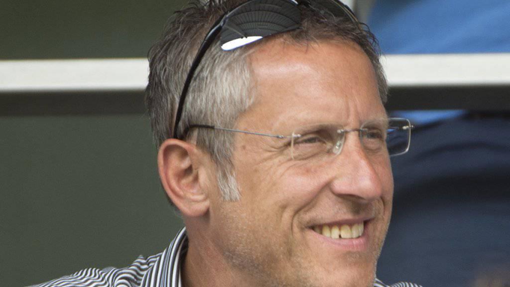 GC-Präsident Stephan Anliker hat allen Grund zur Freude