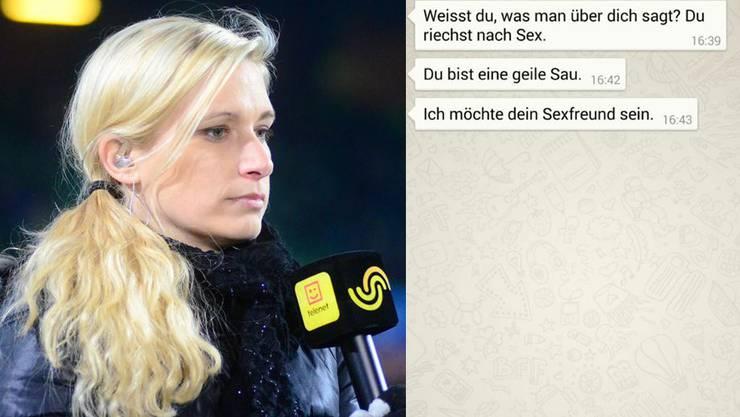 Solche SMS erhielt die Sportjournalistin Hilde Van Malderen von zahlreichen Personen aus dem Umfeld des belgischen Fussballs.