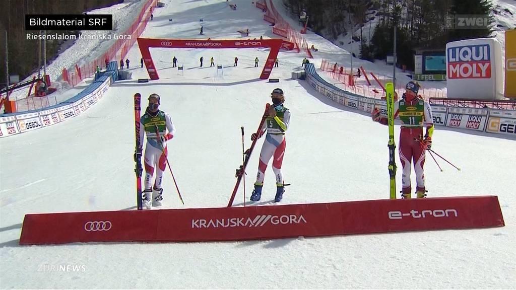 Schweizer Doppelsieg im Riesenslalom von Kranjska Gora