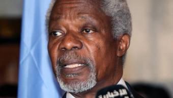 Zeigte sich in Damaskus geschockt über das Massaker in Hula: Kofi Annan
