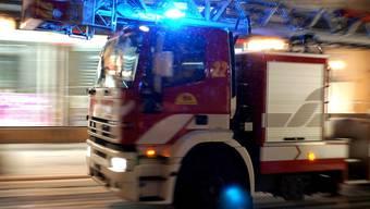Rasch waren die Einsatzkräfte der Feuerwehr Untersiggenthal vor Ort. (Symbolbild)
