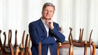 Bruno Lustenberger, Gastro-Aargau-Präsident.