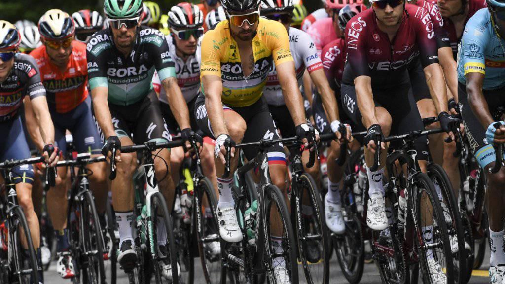 Die Fahrer der Tour de Suisse müssen (oder können) auf die Überquerung des Sustenpasses verzichten