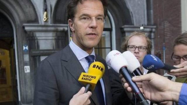 Der niederländische Regierungschef Mark Rutte einen Tag nach seinem Wahlsieg