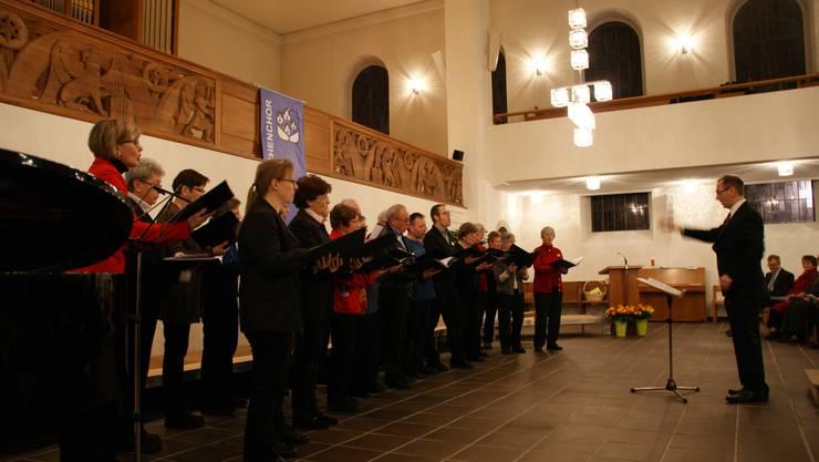 André Lichtler leitet den reformierten Kirchenchor Dietikon