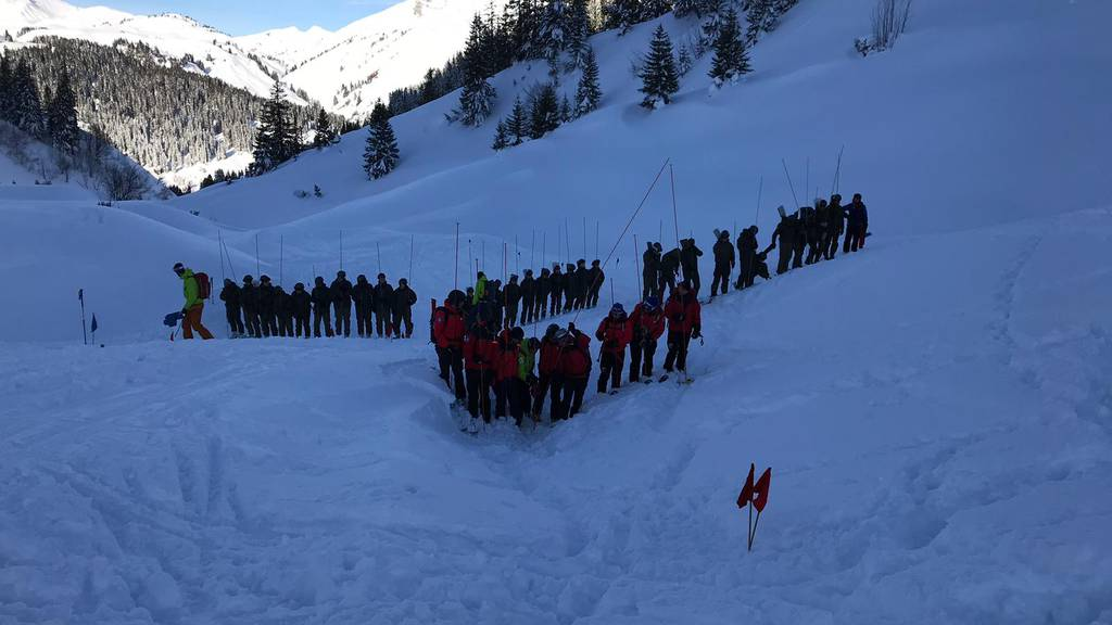 Am Samstag wurden vier Skifahrer in Lech verschüttet. Am Mittwoch wurde auch der vierte Vermisste geborgen.