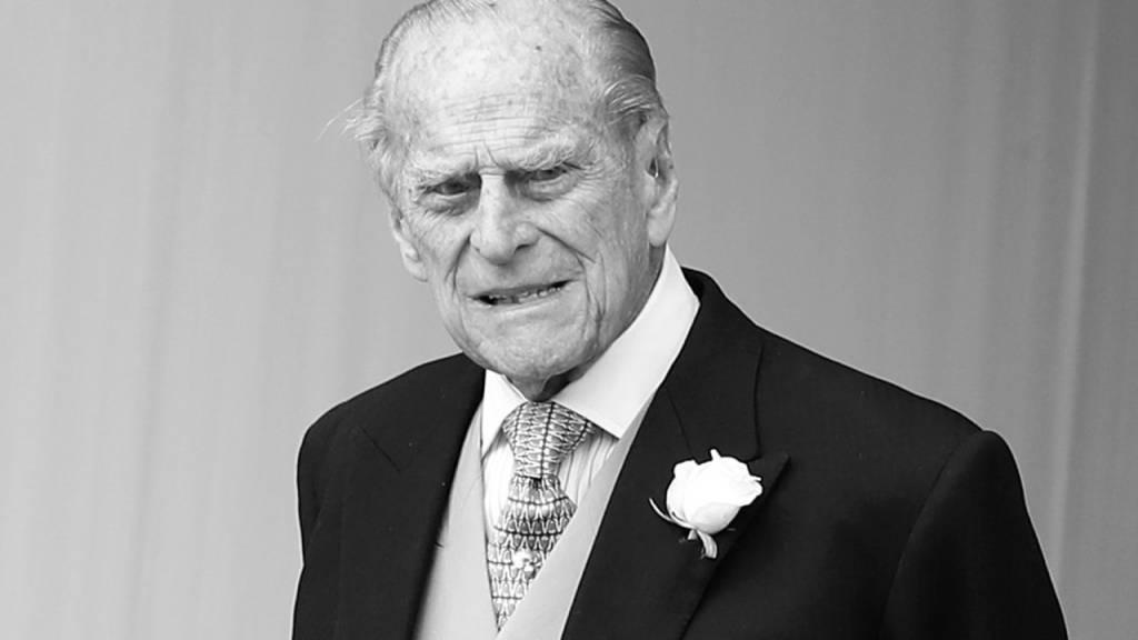 Der britische Prinz Philip ist Anfang April im Alter von 99 Jahren gestorben. (Archiv)