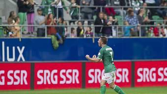 Kristian Nushi avancierte zum Matchwinner für den FC St. Gallen
