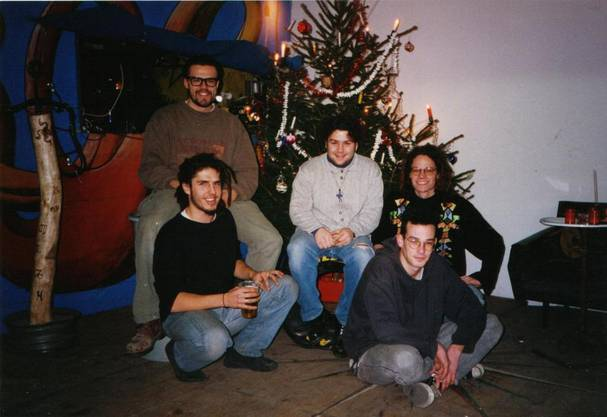 1994 - Das Creep-Team feiert Weihnachten