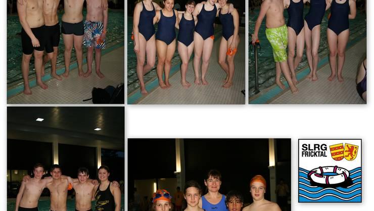 RettungsschwimmerInnen des SLRG Fricktal