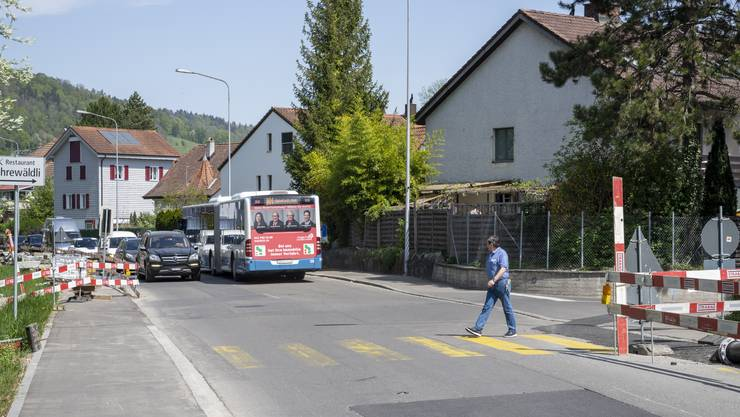 Verzicht auf Bäume entlang der Fahrweidstrasse: Das Forum Weiningen will verhindern, dass Weiningen zu viel für die Verkehrsentlastung ausgibt.