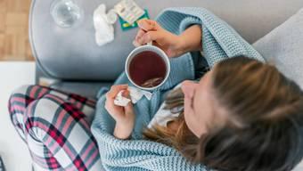 Erkältungen sind derzeit seltener als normalerweise um diese Jahreszeit.
