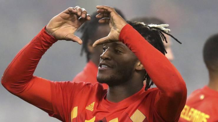 Michi Batshuayi schoss Belgien gegen Island mit einer Doublette zum Sieg.