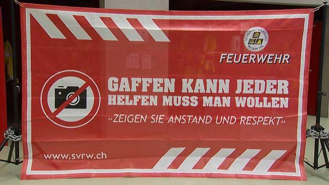Banner gegen Gaffer