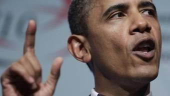 Präsident Barack Obama diskutiert miit Bürgern