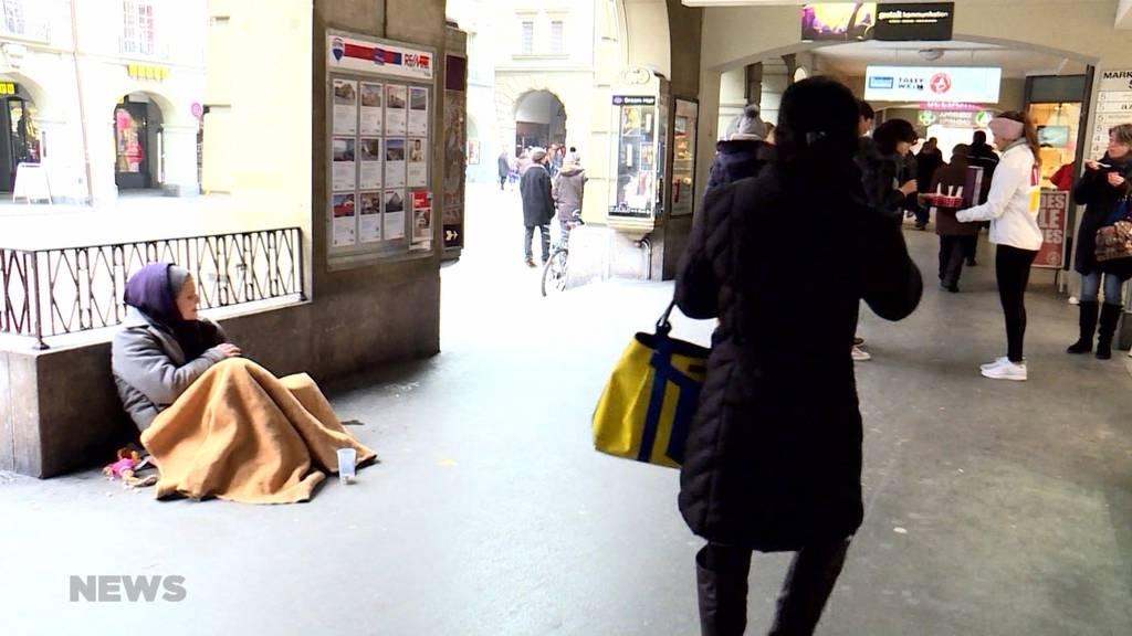 Kälteste Nacht im Winter 20/21: Vor allem Obdachlose leiden unter der eisigen Kälte