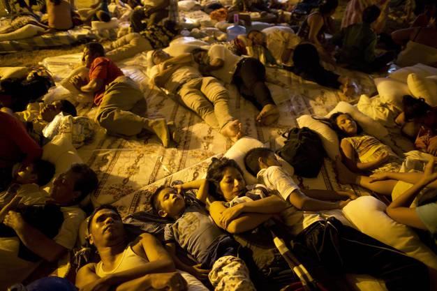 Tausende sind wegen des Bebens obdachlos.