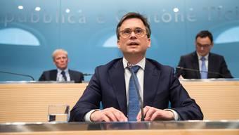 Der Tessiner Staatsrat Christian Vitta zeigt sich zuversichtlich, dass man eine Einigung mit Bern findet.