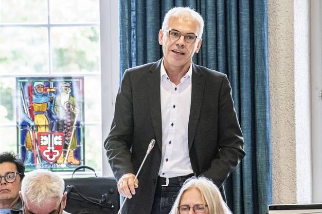 Urs Kaufmann, SP-Landrat: «Steuerwettbewerb nicht mitmachen»