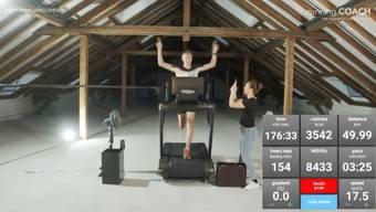 Matthias Kyburz aus Möhlin stellt einen 50-km-Laufband-Weltrekord auf