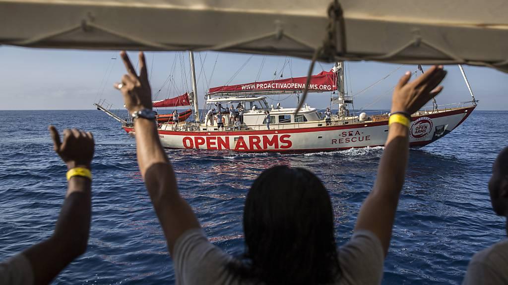 Seenotretter brechen mit «Open Arms» zu 80. Mission im Mittelmeer auf