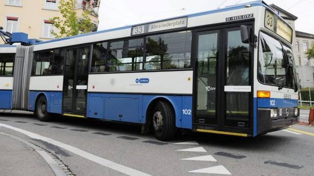 VBZ-Bus in Zürich (Symbolbild)