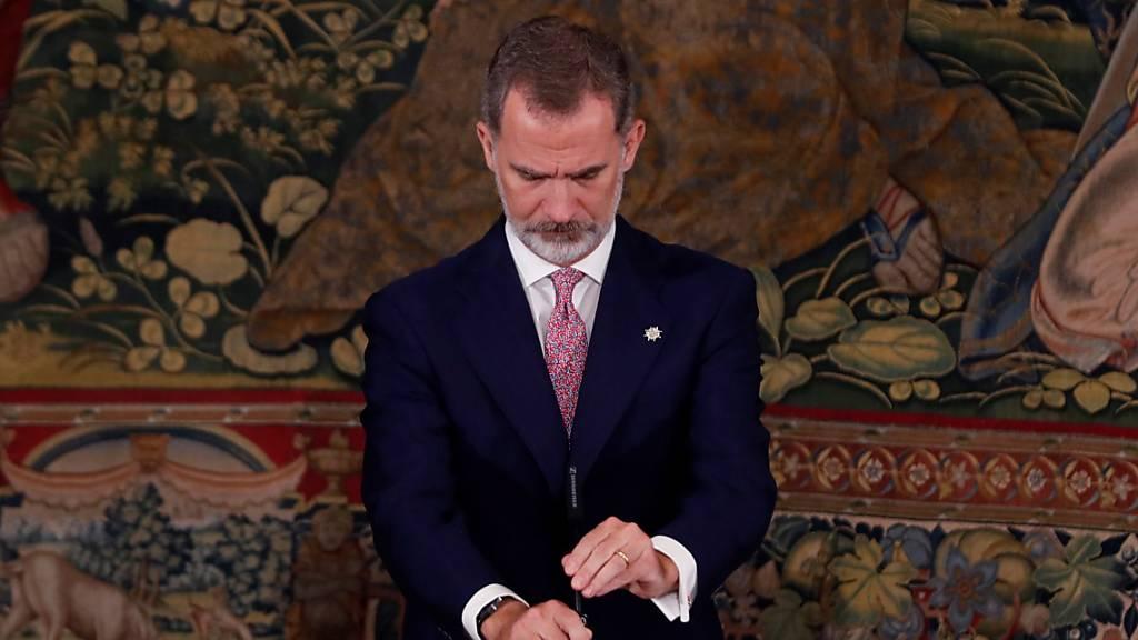 Spanien nimmt mit ranghohem Besuch Abschied von Corona-Toten