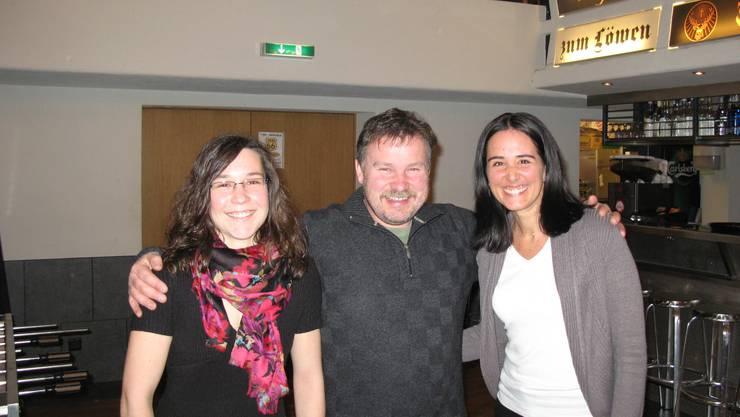 Die drei neuen Mitglieder: v.l.n.r.Natascha Schibli, Franz Steiner, Nicole Thalmann