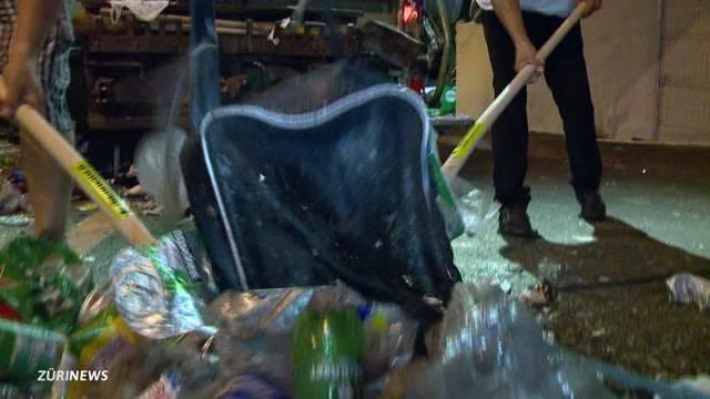 Abfallrekord an Streetparade