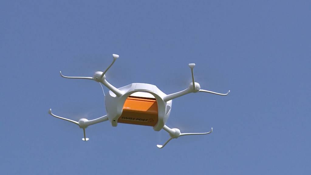 Schon wieder: Post-Drohne in Zürich abgestürzt
