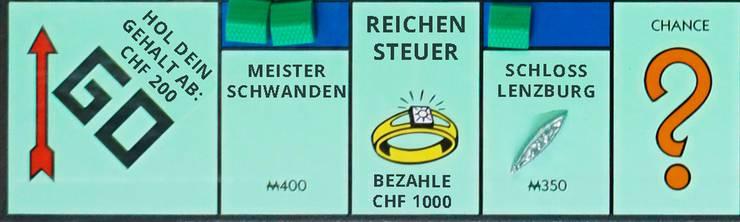 Am teuersten wird es auf Schloss Lenzburg und in Meisterschwanden.