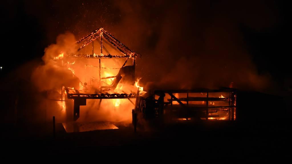 Hunderttausende Franken Schaden nach Brand – Haus unbewohnbar