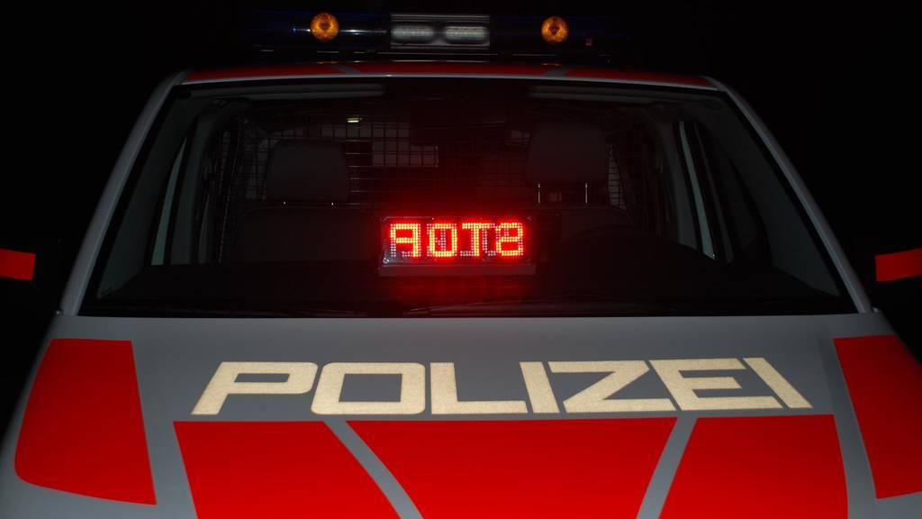 Einsatzübung Luzerner Polizei
