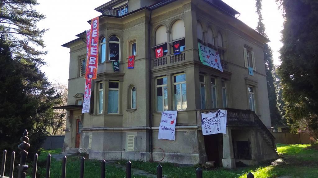Hausbesetzer: Luzern will weiterhin verhandeln