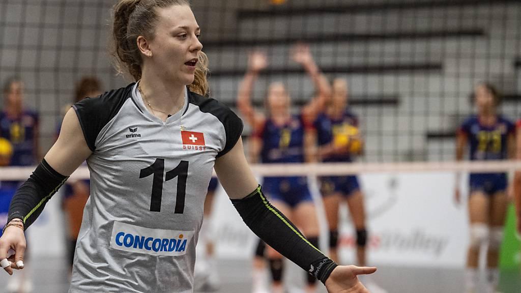 Schweizerinnen bezwingen Estland erneut