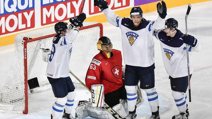 Finnland kehrt das Spiel und gewinnt in der Verlängerung,