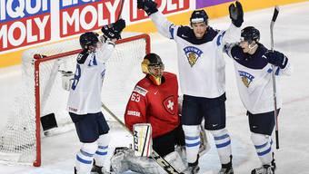 Eishockey-WM Schweiz - Finnland
