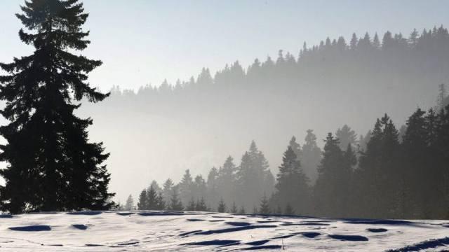 Winterlandschaft im Naturpark im waadtländischen Jura (Archiv)